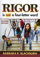 Rigor is Not a Four letter Word PDF
