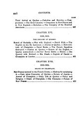 France and England in North America: Pioneers of France in the new world 1880