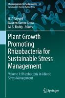 Plant Growth Promoting Rhizobacteria for Sustainable Stress Management PDF