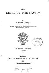 The Rebel of the Family: Volume 2