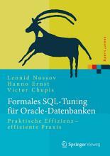 Formales SQL Tuning f  r Oracle Datenbanken PDF