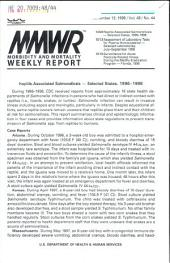 Morbidity and Mortality Weekly Report: MMWR, Volume 48, Issue 44