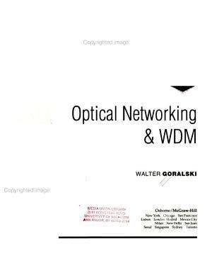 Optical Networking   WDM