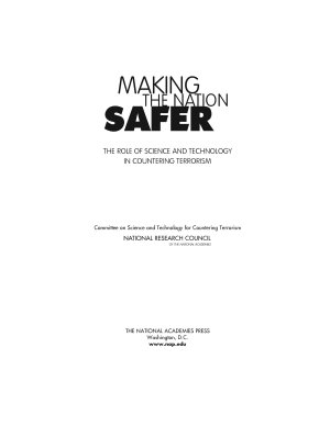 Making the Nation Safer