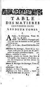 Nouveaux voyages de M. le baron de La Hontan dans l'Amérique septentrionale...: ou la suite des voyages de M. Le Bon de Lahotan