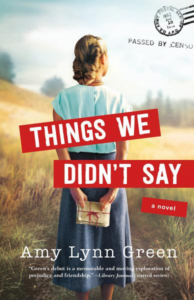 Download Things We Didn t Say Book