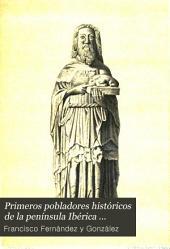 Primeros pobladores históricos de la península Ibérica ...
