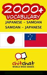 2000 Japanese Samoan Samoan Japanese Vocabulary Book PDF