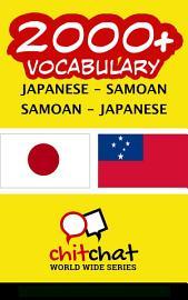 2000  Japanese   Samoan Samoan   Japanese Vocabulary