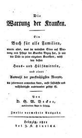 Die Wartung der Kranken (etc.)
