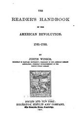 The Reader's Handbook of the American Revolution. 1761-1783
