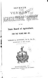 Annual Report - Board of Agriculture: Volume 7