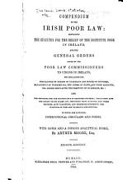 Compendium of the Irish Poor Law PDF