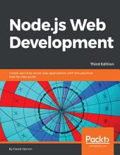 Node.js Web Development: Edition 3