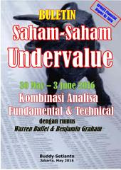 BULETIN (laporan keuangan Q1 2016) SAHAM-SAHAM UNDERVALUE 30 May – 3 June 2016: KOMBINASI FUNDAMENTAL & TECHNICAL ANALYSIS
