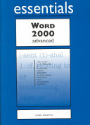 Download Word 2000 Essentials Advanced Book