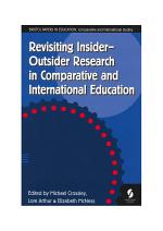 Revisiting Insider-Outsider Research in Comparative and International Education