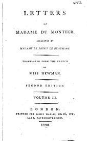 Letters of Madame Du Montier: Volume 3