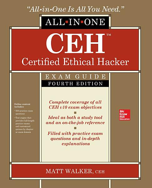 CEH Certified Ethical Hacker All in One Exam Guide  Fourth Edition PDF