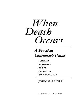 When Death Occurs PDF