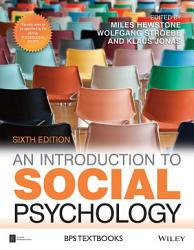 An Introduction To Social Psychology Book PDF