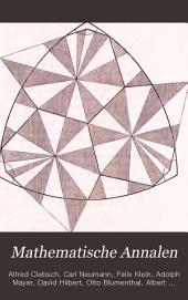 Mathematische Annalen: Volume 14