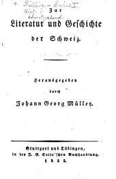 Johannes von Müllers sämmtliche Werke: Volumes23à24
