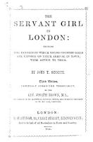 The Servant Girl in London     Third Edition  Carefully Corrected     by     J  Brown PDF