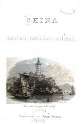 China historisch, romantisch, malerisch
