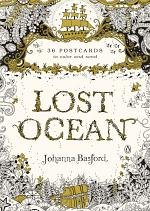 Lost Ocean: 36 Postcards to Color and Send