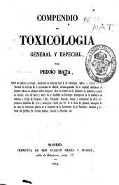 Compendio de toxicologia general y particular