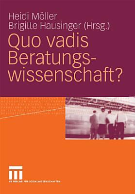 Quo vadis Beratungswissenschaft  PDF