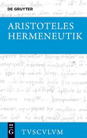 Hermeneutik / Peri hermeneias