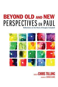 Beyond Old and New Perspectives on Paul PDF