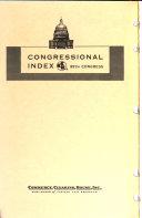 Congressional Index PDF