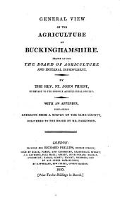 General View of the Agriculture of Buckinghamshire