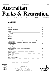 Australian Parks   Recreation PDF