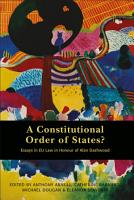 A Constitutional Order of States  PDF