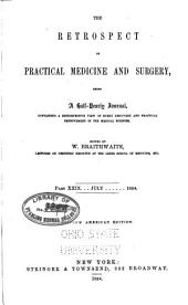 The Retrospect of Practical Medicine and Surgery: Volumes 29-30