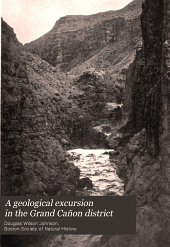 A geological excursion in the Grand Cañon district