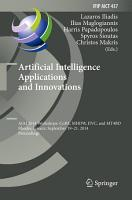 Artificial Intelligence Applications and Innovations PDF