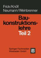 Baukonstruktionslehre PDF