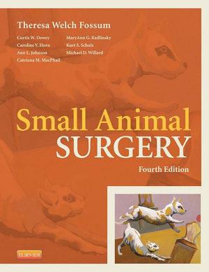 Small Animal Surgery Textbook   E Book PDF