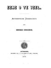 Eene 0 te veel: Antwerpsche zedenschets