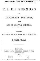 Preaching for the million, sermons. [1st and 4th eds. of no. 1].
