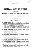 General List of Works Published by Messrs  Longman  Green  and Co  Paternoster Row  London PDF