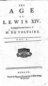 The Age of Lewis XIV PDF