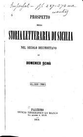 Prospetto della storia letteraria di Sicilia nel secolo decimottavo