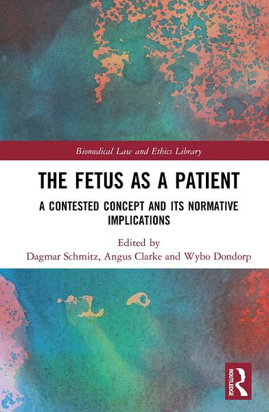 Download The Fetus as a Patient Book