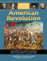 American Revolution  The Definitive Encyclopedia and Document Collection  5 volumes  PDF